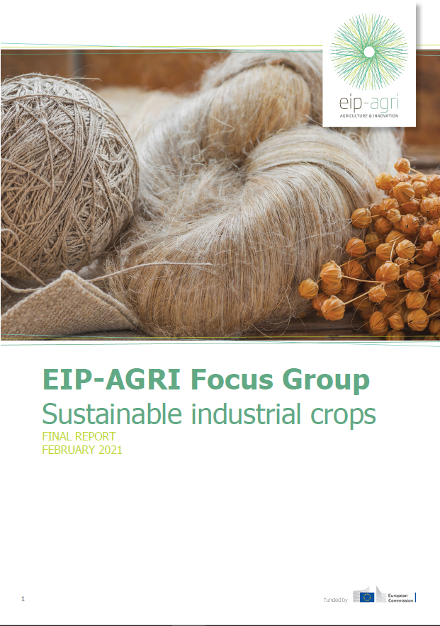EIP-AGRI Focus Group Sustainable industrial crops: Final report